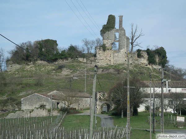 Chateau et ferme de Gurson photo
