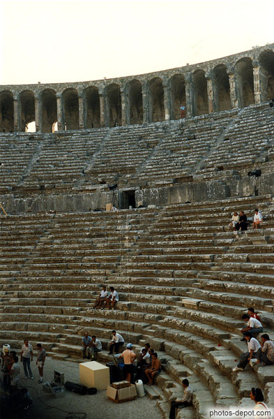 Théâtre Romain antique d'Aspendos photo