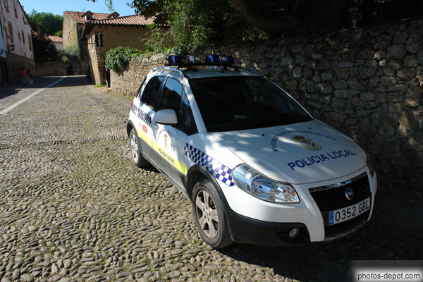 Voiture de police photo