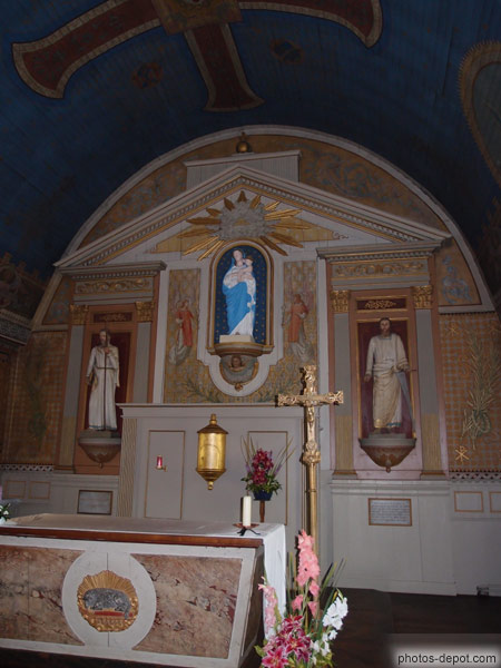 autel de la vierge photo